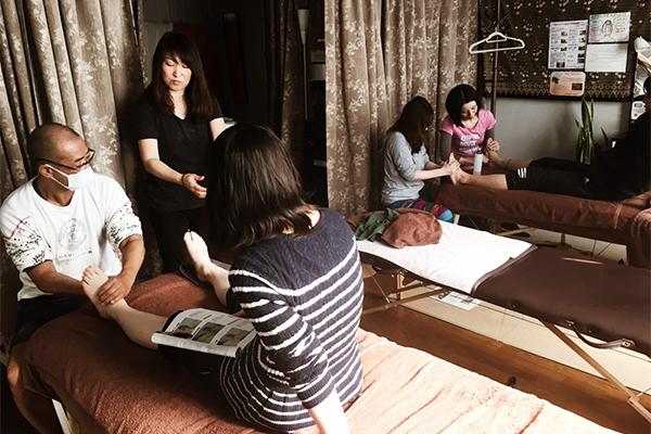 新宿早稲田の1dayマッサージスクール・講座のLuana(ルアナ)